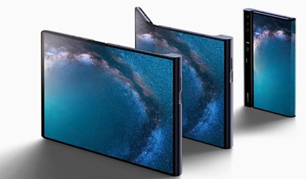 """""""Huawei"""" nukelia """"Mate X"""" pristatymą iki rugsėjo"""