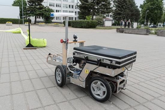 """Robotų intelektas"" 2019, KTU nuotr."