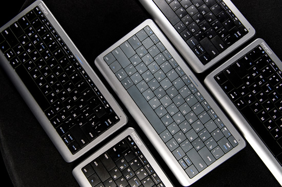 """Rugpjūtį numatoma išleisti pirmąją pasaulyje intuityviąją klaviatūrą """"Click&Touch"""""""