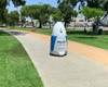 Kalifornijos policijos nuovada pristatė su nusikalstamumu kovojantį robotą