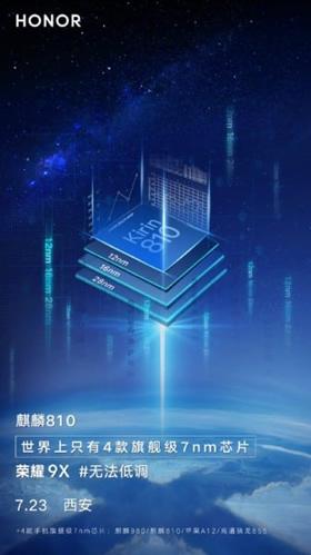"""Honor 9X"" taps pirmuoju telefonu su naujuoju ""Kirin 810"" procesoriumi"