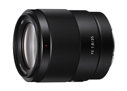"""Naujasis """"Sony"""" kompaktiškas universalus objektyvas """"FE 35mm F1.8"""""""