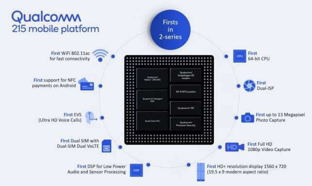 """""""Qualcomm Snapdragon 215"""" – procesorius pakelsiantis biudžetinius telefonus laipteliu aukščiau"""
