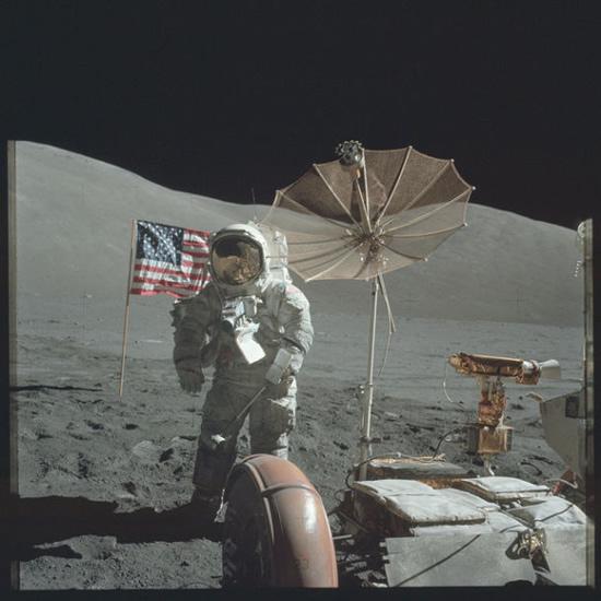 "NASA/ ""The Project Apollo Archive"" nuotr. / ""Apollo"" astronautų daryta nuotrauka"