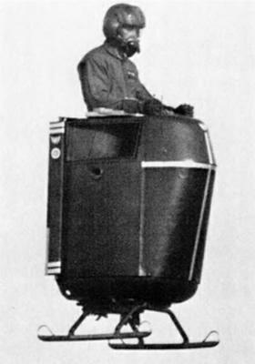 """""""Williams X-Jet"""" iš tiesų skrido, bet iš jo buvo mažai naudos.  © commons.wikimedia.org"""