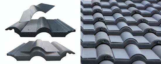 """Saulės energijos sistema """"SolarPowerPack®"""" ant čerpių stogo"""