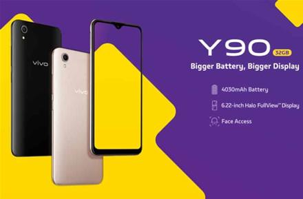 """""""Vivo"""" išleido itin pigų """"Y90"""" išmanųjį telefoną"""
