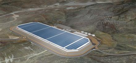 """""""Gigafactory"""" gamykla © """"Tesla"""""""