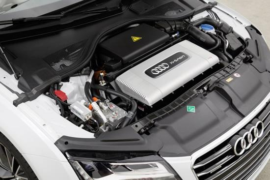 """""""Audi"""" spartins vandenilinių kuro elementų tyrimus © """"Audi"""" nuotrauka"""