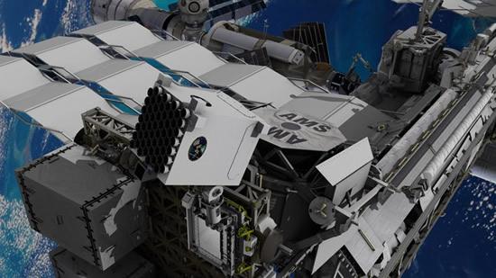 Prietaisas NICER Tarptautinėje kosminėje stotyje, naudotas pulsarų navigacijos bandymui. © NASA's Goddard Space Flight Center