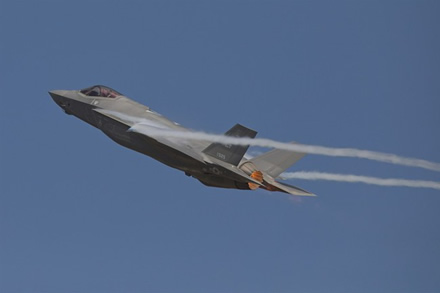 "Skrendantis ""F-35 A"" © wikimedia.org"