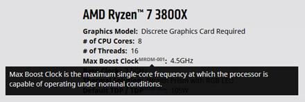 """AMD atnaujino """"Ryzen"""" procesorių aprašymą norėdami paaiškinti """"Max Boost"""" sąvoką"""