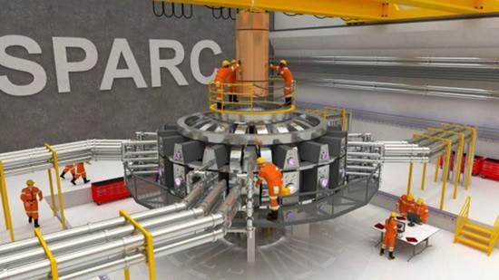 Siūlomas SPARC tokamako eksperimentas. Naudojant stiprius magnetus su aukštos temperatūros superlaidininkais, šis eksperimentas gali tapti pirmuoju, kuriame termobranduolinės sintezės gaminama energija pakankamai viršys sunaudojamą. © (MIT PSFC I