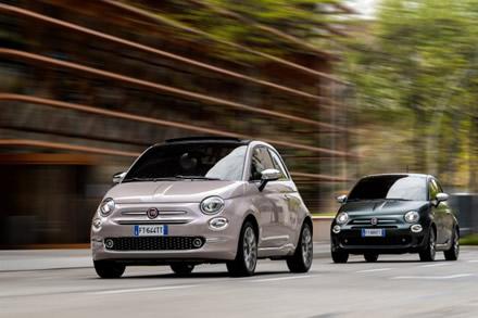 """""""Fiat 500"""" bus kertinis gamintojo strategijos akmuo ©  Gamintojo nuotrauka"""