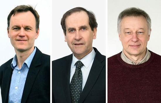 Trims Vilniaus universiteto mokslininkams suteiktas išskirtinio profesoriaus statusas / VU nuotr.