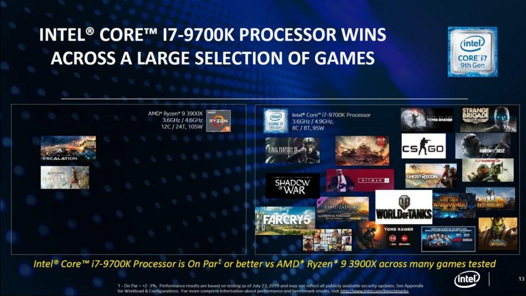 """""""Intel"""": mes vis dar laimime prieš AMD realaus naudojimo testuose"""