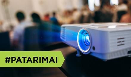 Patarimai, kaip išsirinkti projektorių