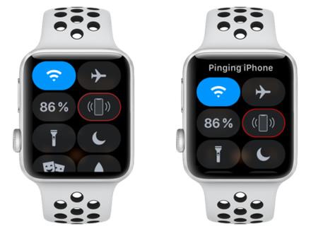 """Apple Watch"" pagalba ieškant ""iPhone"""