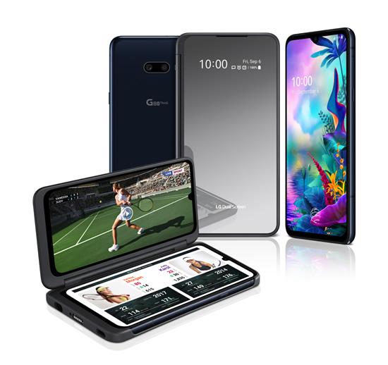 """""""LG G8X THINQ"""" išmanusis telefonas ir naujasis """"LG DUAL SCREEN"""" ekranas"""