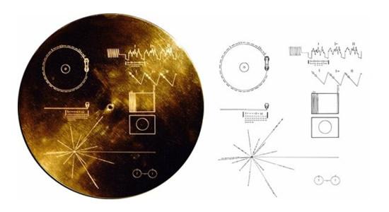 Auksinis diskas © NASA/JP