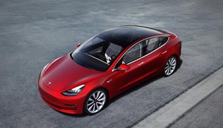 """Model 3"" © ""Tesla"""