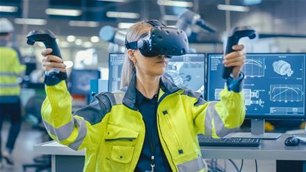 Kokias galimybes pramonei atveria virtuali realybė?