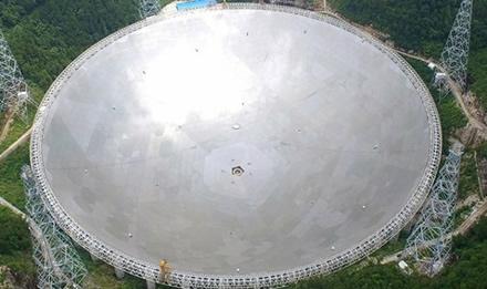 FAST radioteleskopas