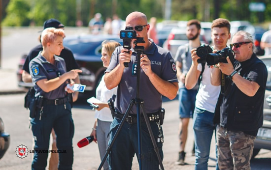 Greičio matavimas © Policija