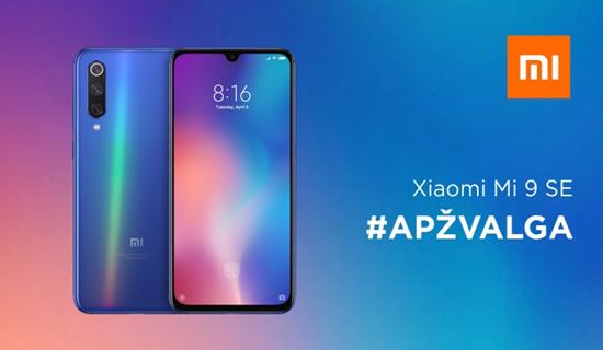 """""""Xiaomi Mi 9 SE"""" – vienintelis pigus 2019 m. flagmanas?"""