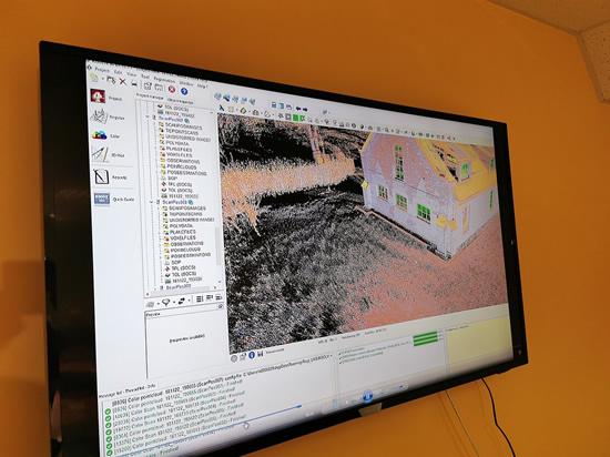 3D skenerio pristatymas / LRT nuotr.