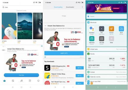 """""""Xiaomi"""" telefonuose diegiamoje """"MIUI"""" sąsajoje rodomos reklamos"""