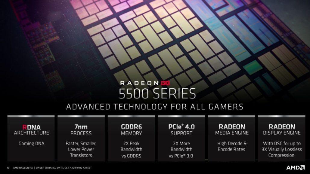 "AMD atskleidė ""Radeon RX 5500 (XT)"" vaizdo plokštes"