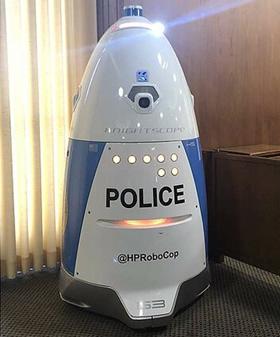 """""""HP RoboCop"""" / Kalifornijos policijos nuotr."""