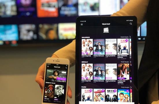 """Bendrovės nuotr. / """"Telia Play"""" paslauga aprėps visus ekranus"""