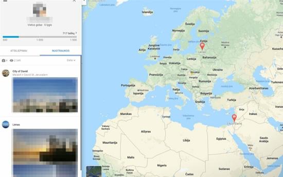 """Informacija, kurią galima rasti """"Google"""" atsiliepimuose © """"Google Maps"""""""