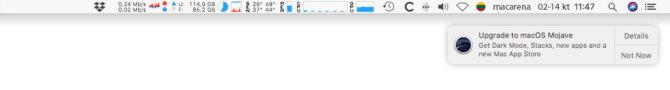 """Kaip uždrausti pranešimus raginančius įdiegti naują """"macOS"""" versiją"""