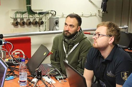 Gynybos technologijų kūrybos stovykla / Organizatorių nuotr.