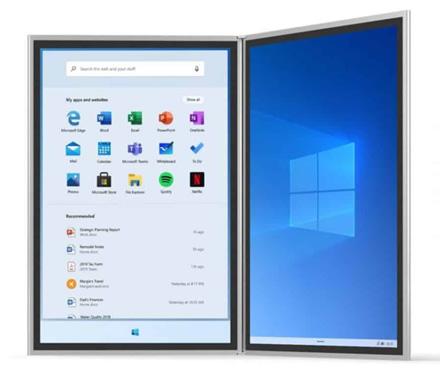 """""""Windows 10X"""" – """"Microsoft"""" ateities operacinė sistema"""
