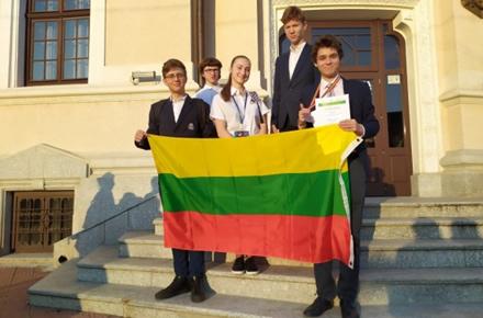 Tarptautinėje astronomijos olimpiadoje Rumunijoje pelnytas bronzos medalis