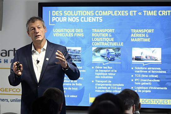 GEFCO pristatė du inovatyvius sprendimus