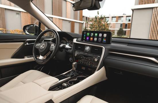 """""""Lexus"""" hibridas RX. Autorius Karl Kirs"""