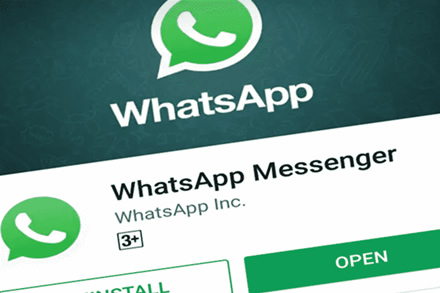 """""""WhatsApp"""" naudotojams """"Android"""" telefonuose – galimybė atrakinti programėlę pirštų atspaudu"""