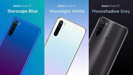 """Redmi Note 8T"": tas pats ""Redmi Note 8"", tačiau su NFC"