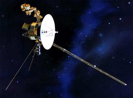 """NASA/JPL-Caltech iliustr. / Zondas """"Voyager 1"""""""