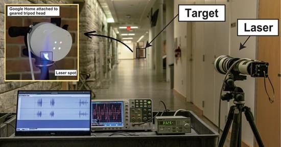 Su lazeriu įsilaužti paprasta: atrakinamos durys, paleidžiami automobiliai, apsiperkama internete