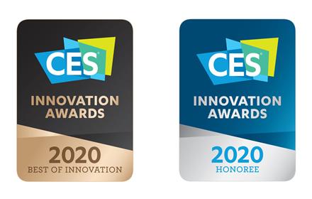"""""""LG"""" įvertinta 2020 m. """"CES"""" inovacijų apdovanojimais"""
