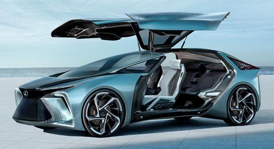 """""""Lexus"""" pristatė ateities elektrifikacijos viziją su naujausiu koncepciniu elektrifikuotu """"LF-30"""" automobiliu"""