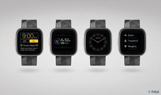 """""""Fitbit"""" pristato naująjį širdies ritmo sekimą """"Versa 2"""" laikrodžiuose"""