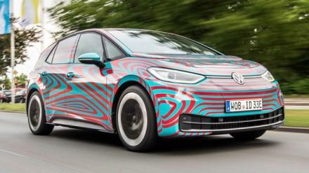 """""""ID.3"""" elektromobilis © """"Volkswagen"""""""