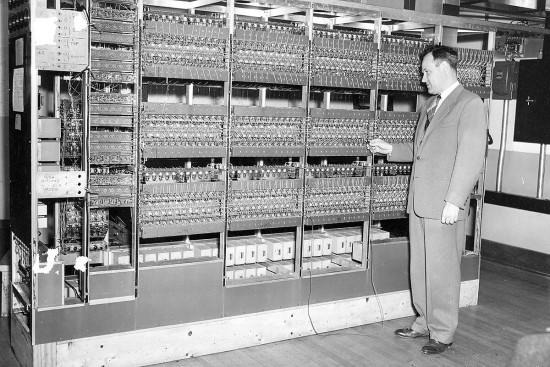 ILLIAC I kompiuteris / Ilinojaus universiteto nuotr.